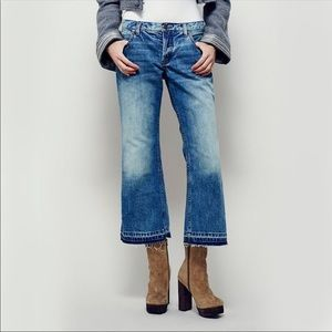 Free People Chelsea' Crop Flare Jeans